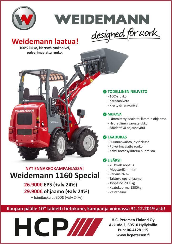 Weidemann 1160 Special